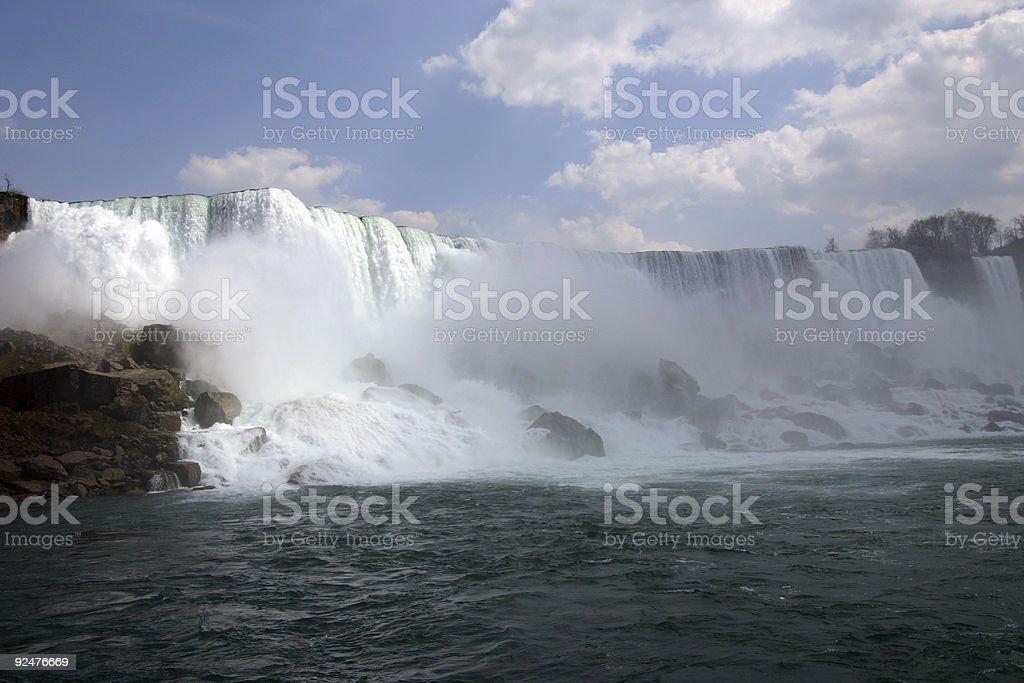 Niagra Falls royalty-free stock photo