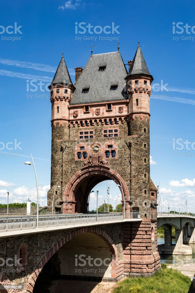 nibelungentower worms germany royalty-free stock photo