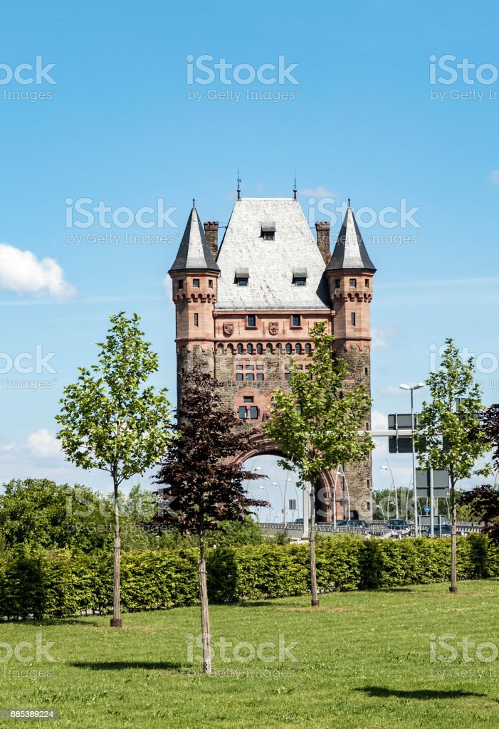 nibelungentower worms germany foto de stock royalty-free