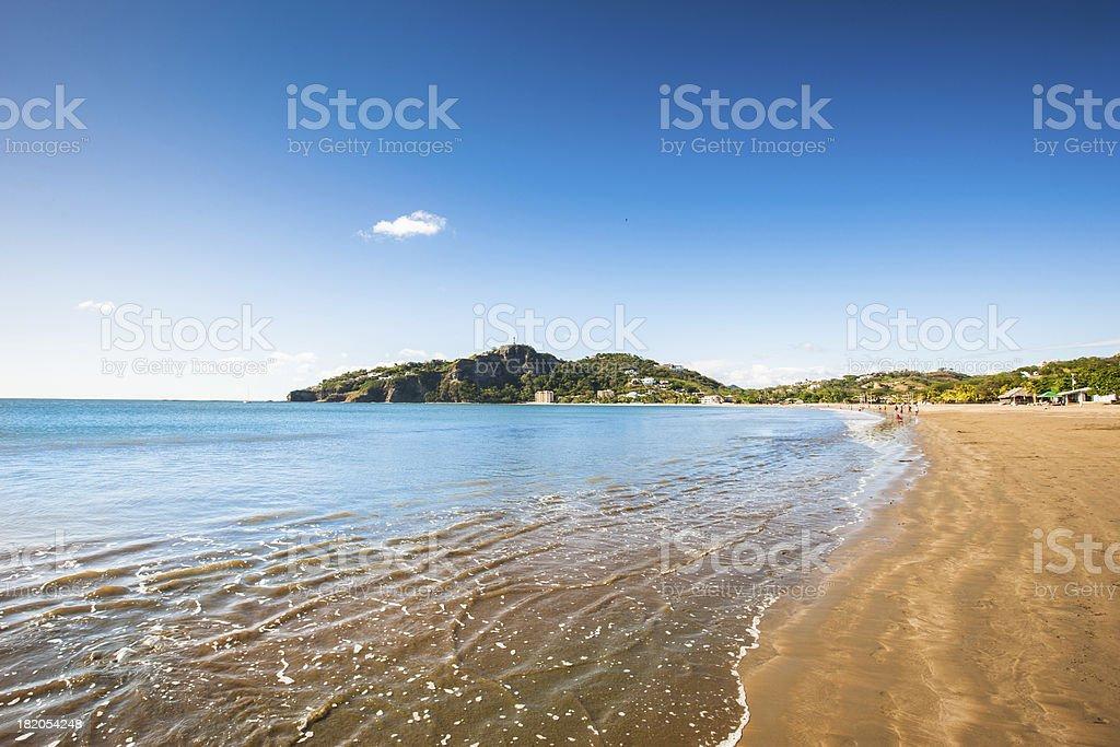 Nicaragua Beach San Juan del Sur stock photo