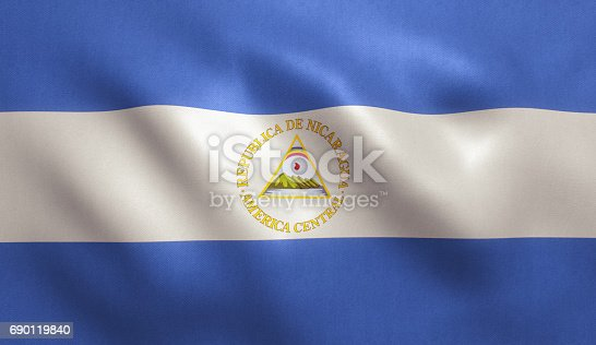 istock Nicaragua Flag 690119840