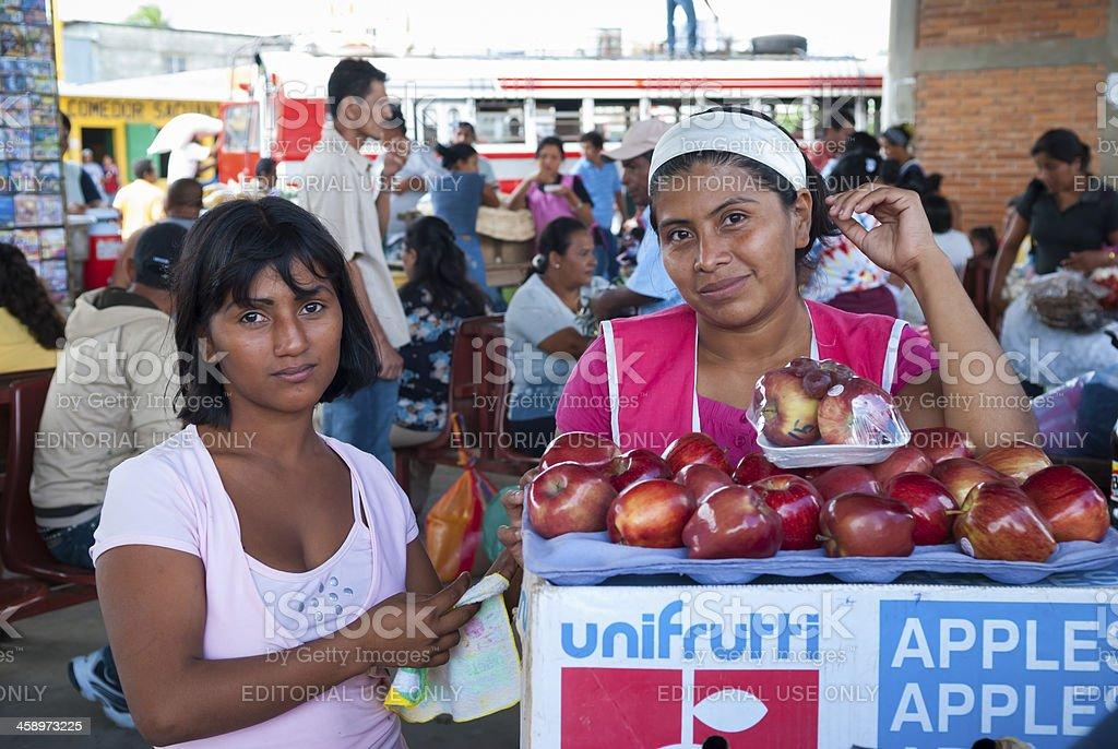 Nicaraguan people royalty-free stock photo