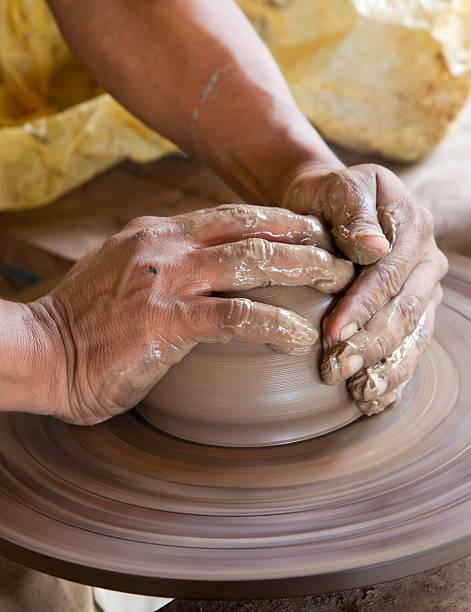 Nicaraguan pottery stock photo
