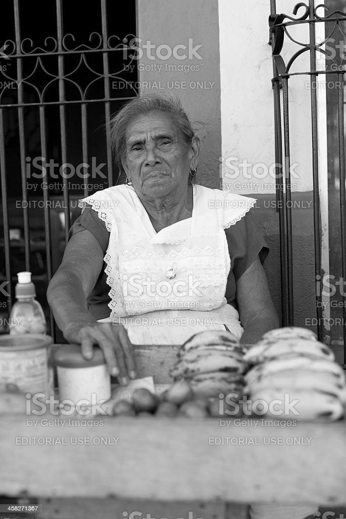 Nicaraguan woman royalty-free stock photo
