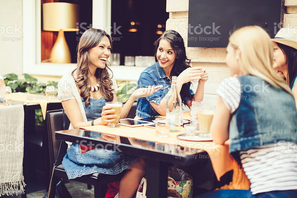Nice afternoon stock photo