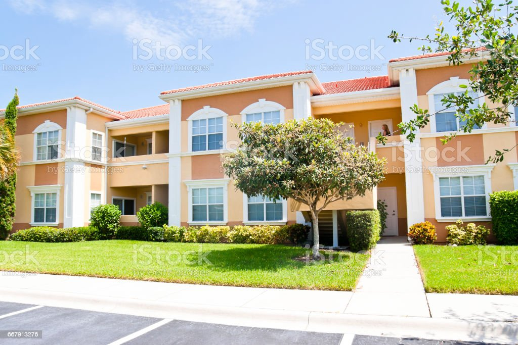 Nice Apartment Complex stock photo