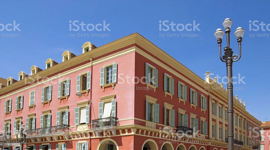 Nice - Architecture Place Massena royalty-free stock photo
