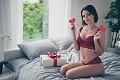 istock Nice attractive girlish sweet winsome gorgeous cheerful girl wea 1096918714