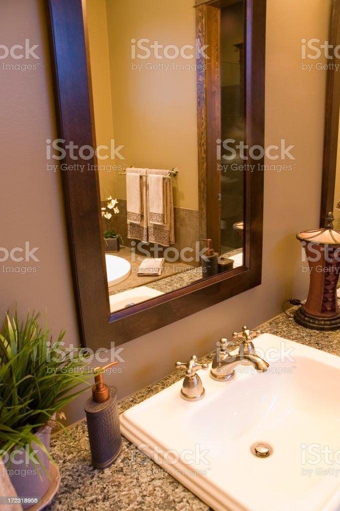 Nice bathroom stock photo