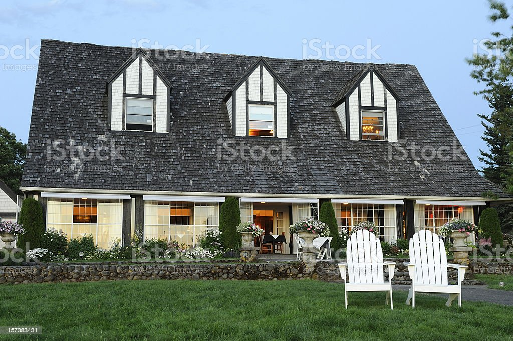 Nice B&B stock photo
