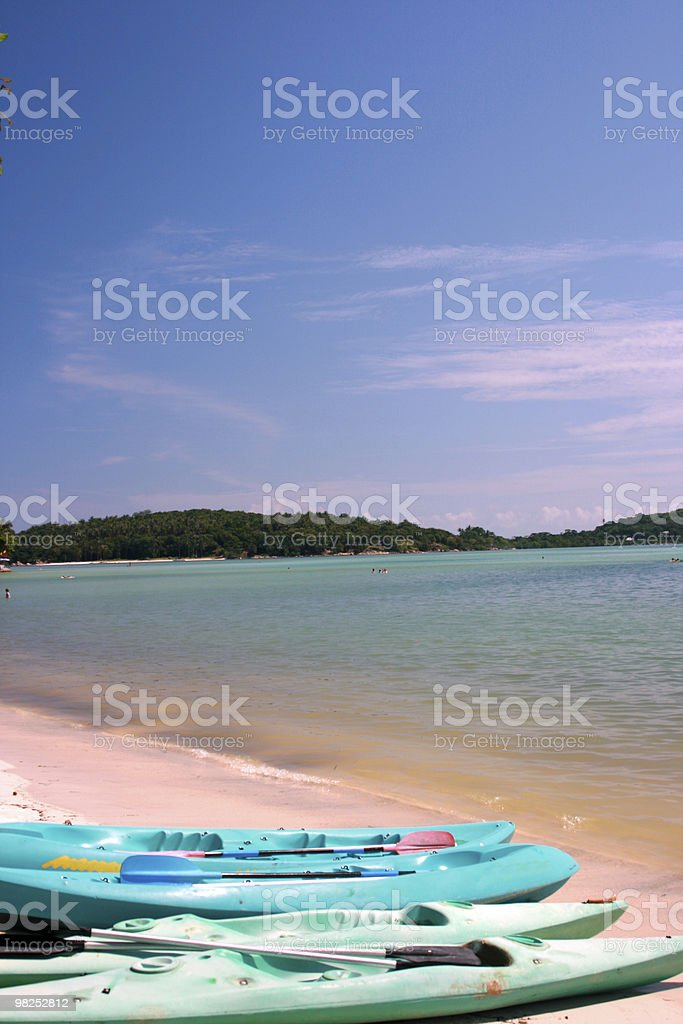 Bella spiaggia foto stock royalty-free