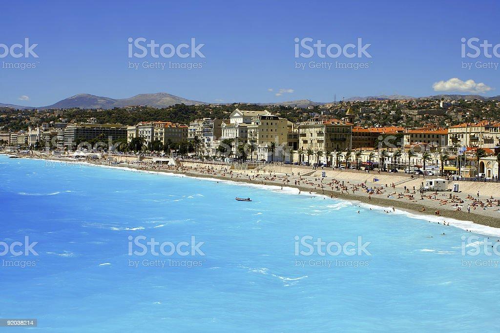Nice beaches royalty-free stock photo