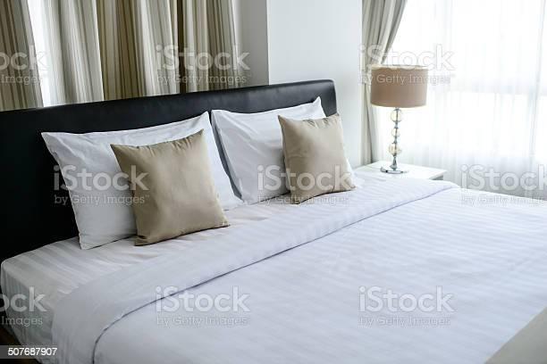 Nice bed in typical contemporary setting picture id507687907?b=1&k=6&m=507687907&s=612x612&h=nlebjl79uj yliqadvbybri6aosjt jnsbkophhu6oc=