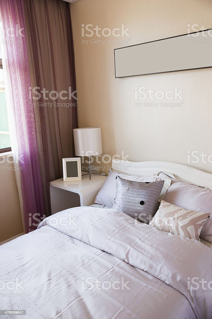 nice bedroom royalty-free stock photo