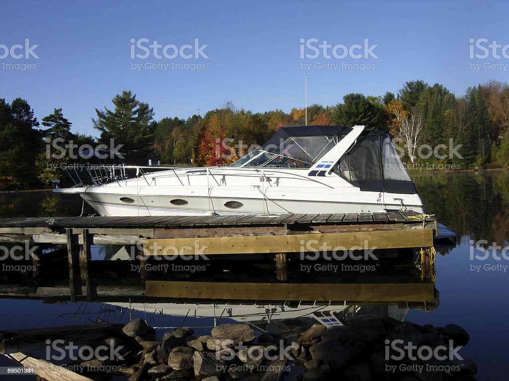 Nice Boat royaltyfri bildbanksbilder