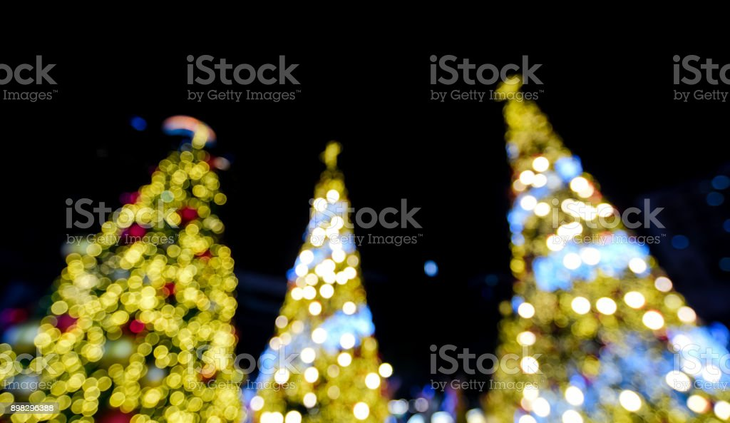 nice christmas light with defoused royalty free stock photo