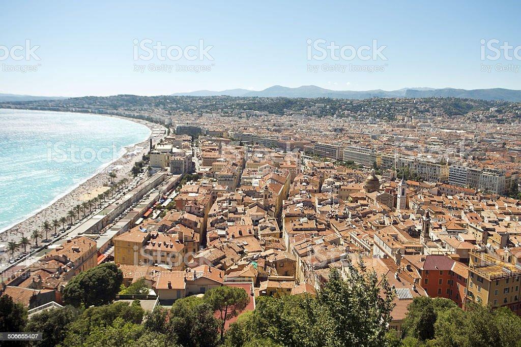 Nice city royalty-free stock photo