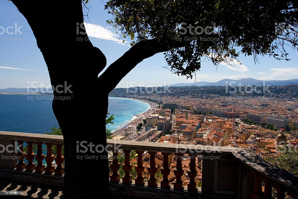 Nice cityscape stock photo