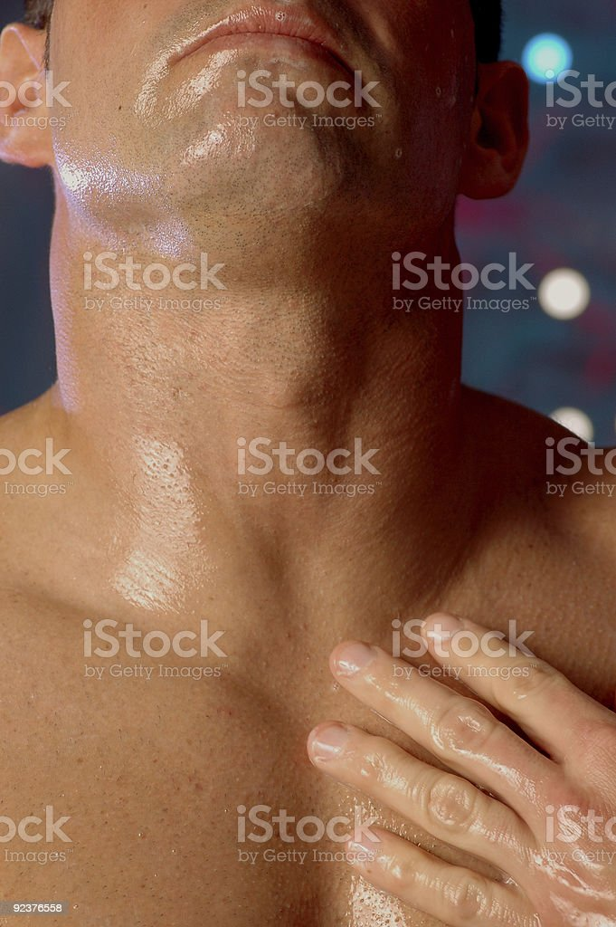 nice clean shave royalty-free stock photo