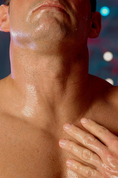 nice clean shave stock photo