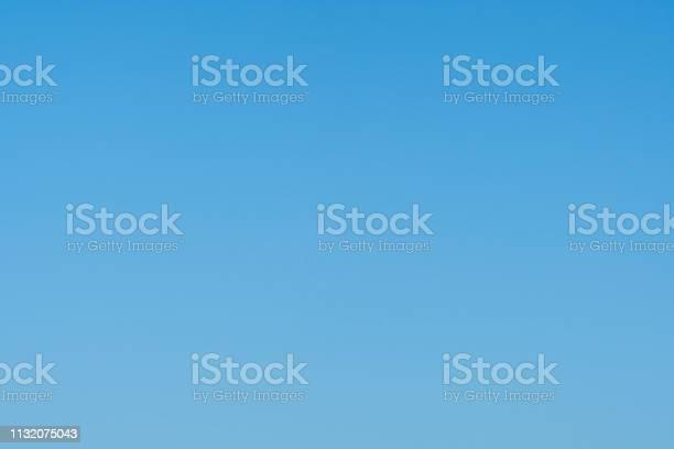 Photo of Nice cloudless empty light blue sky background