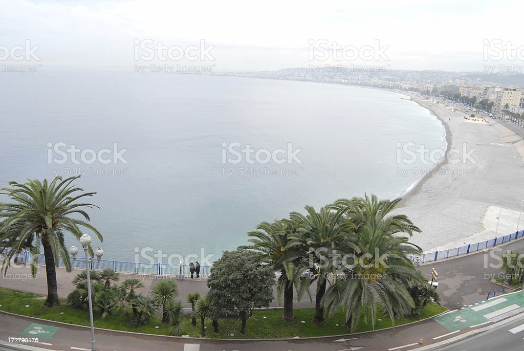 Nice coastline royalty-free stock photo