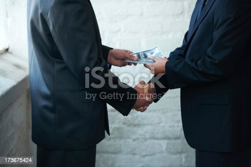 istock Nice doing business with you 173675424
