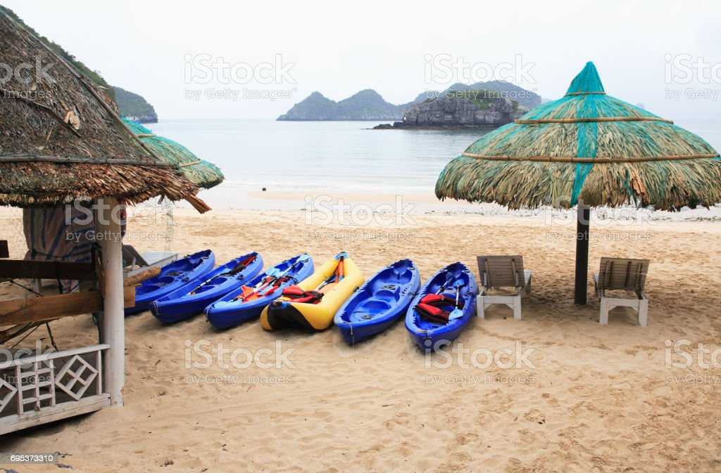 Nice Empty Beach stock photo