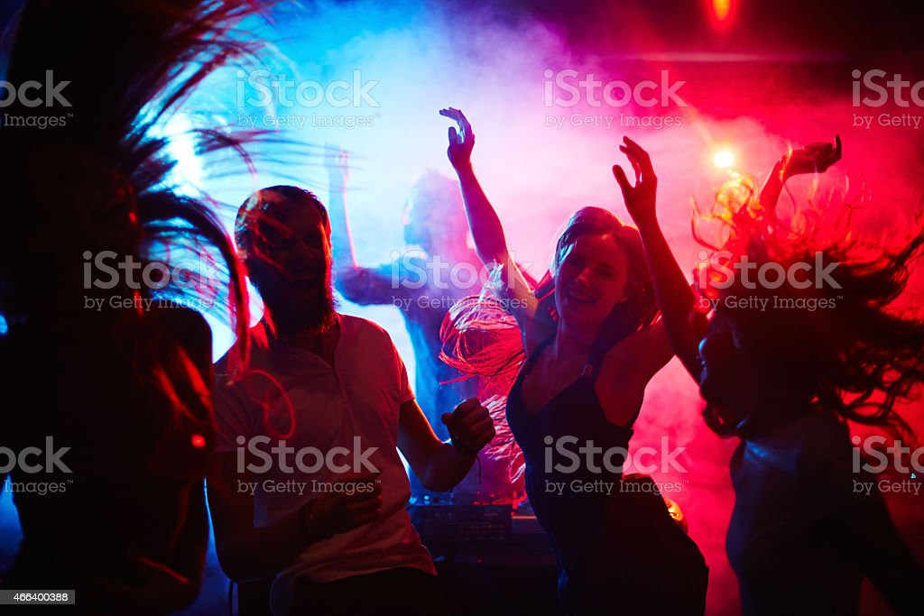 Nice evening stock photo