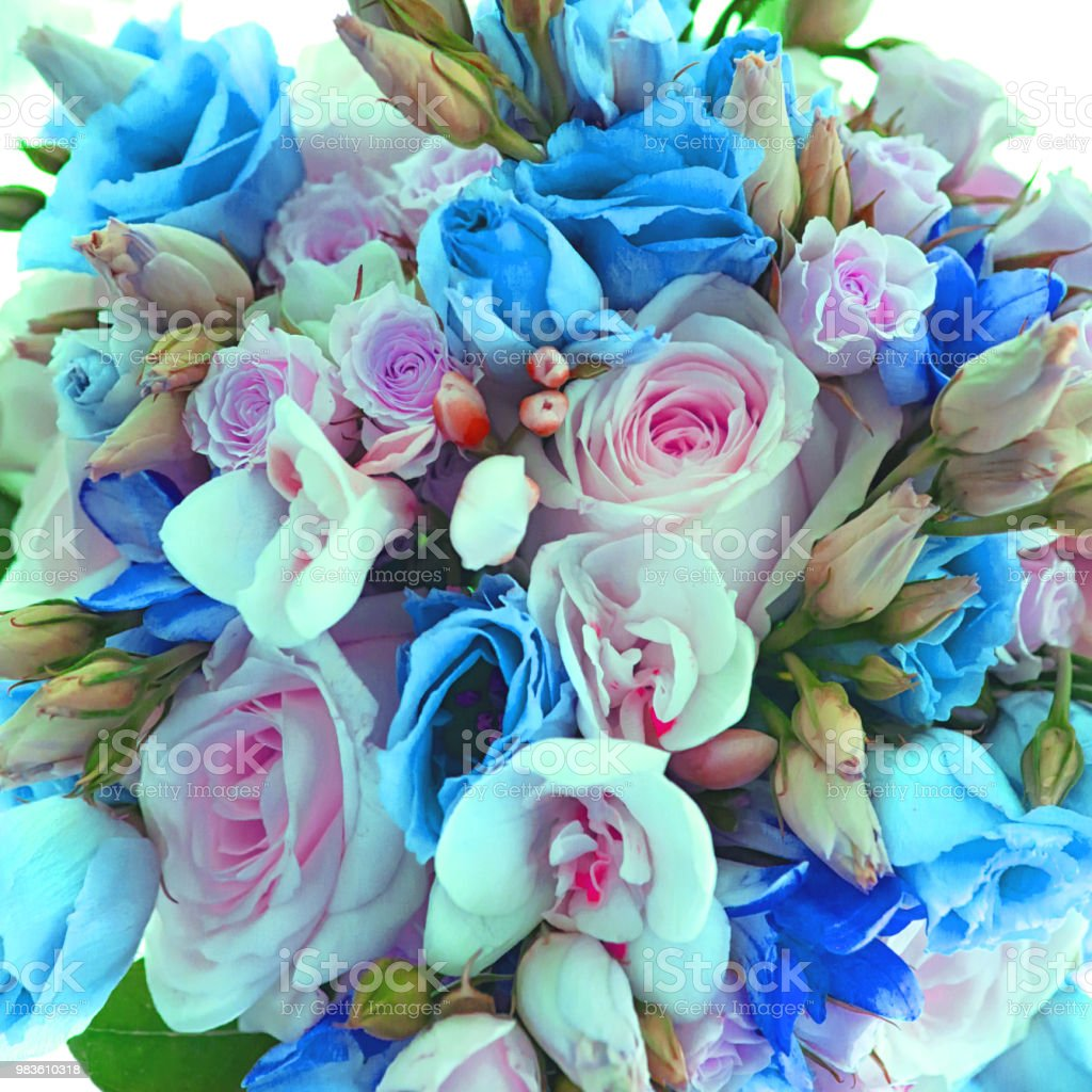 Nice Flower Bouquet Bouquet Of Flowers Copy Space Blank Space For