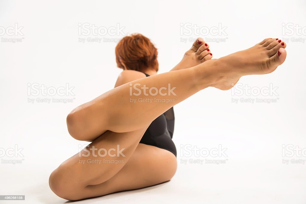 nice foot stock photo