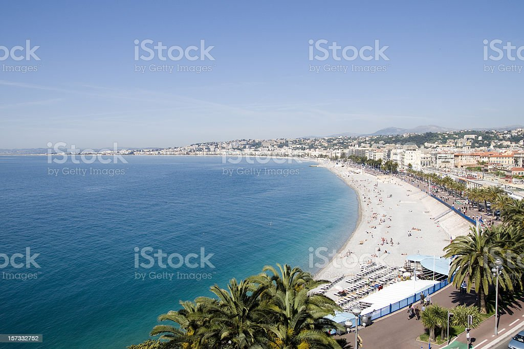 Nice, France - Côte d'Azur royalty-free stock photo