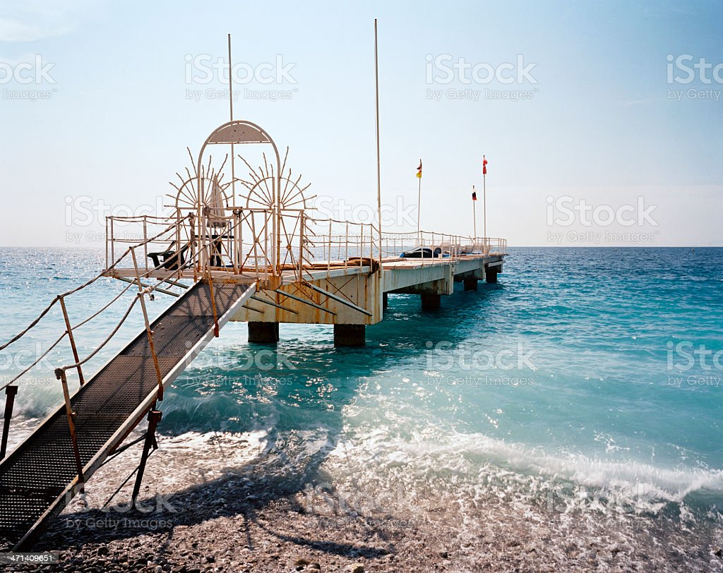 Nice, Cote d'Azur royalty-free stock photo
