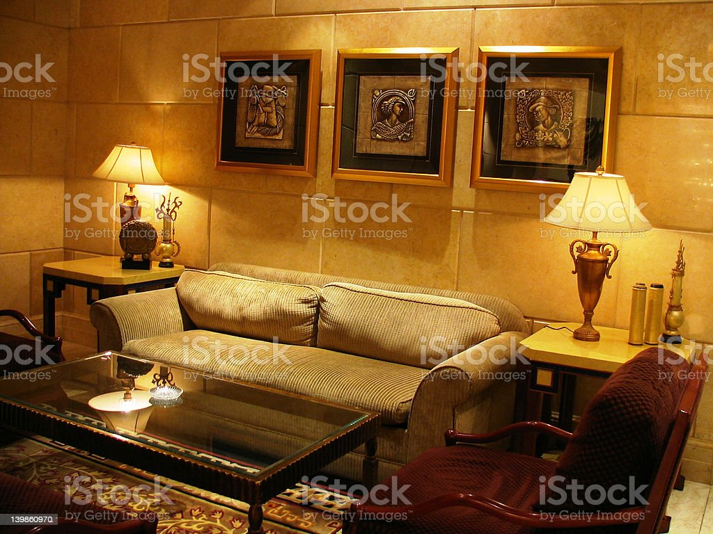 Nice hotel royalty-free stock photo