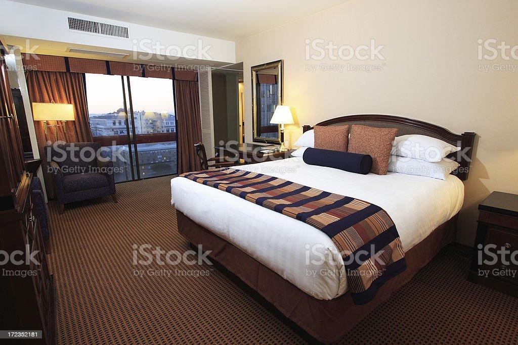 Nice Hotel Room royalty-free stock photo