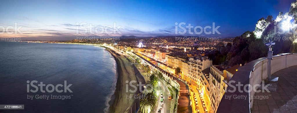 Nice in French Riviera stock photo