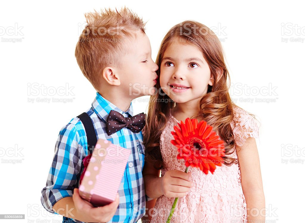 Nice kiss stock photo more pictures of bonding istock nice kiss royalty free stock photo thecheapjerseys Gallery