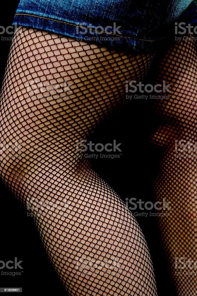 Nice legs stock photo