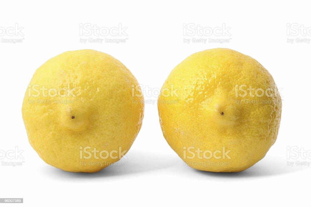 Niza limones - foto de stock