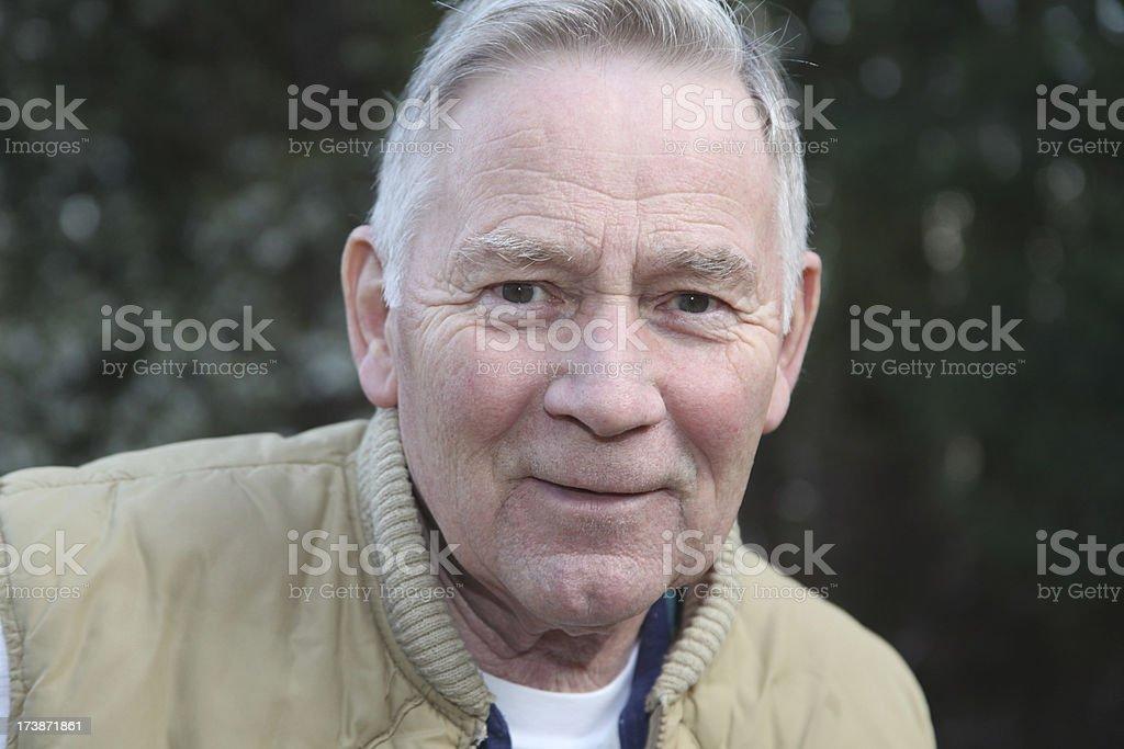 Nice Looking Older Gentleman royalty-free stock photo