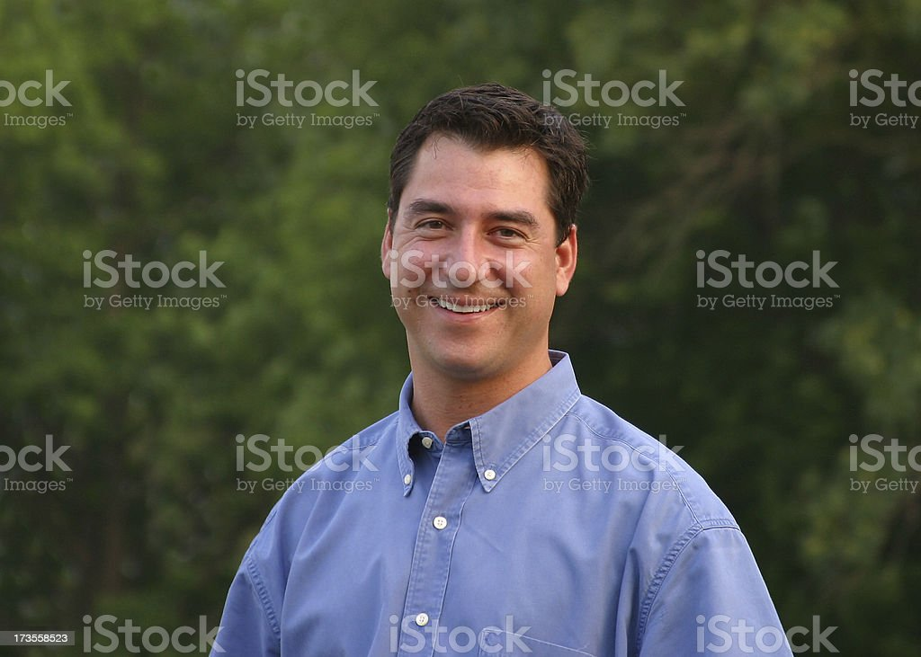 Nice Looking Young Man royalty-free stock photo
