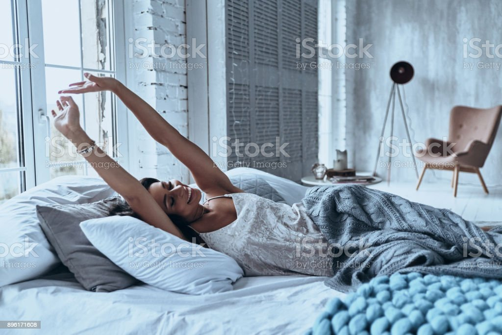Nice morning. stock photo