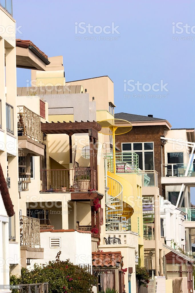 Nice Neighborhood stock photo