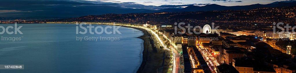XXXL Nice night panorama royalty-free stock photo
