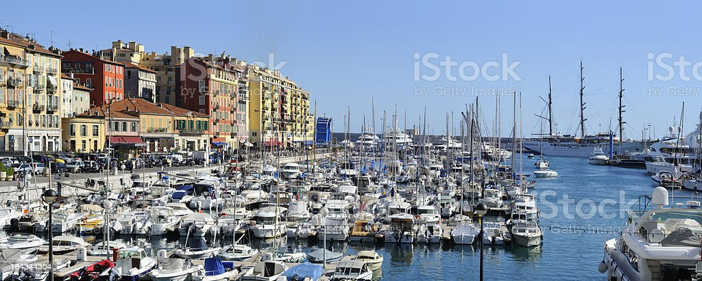 Nice - panorama royalty-free stock photo