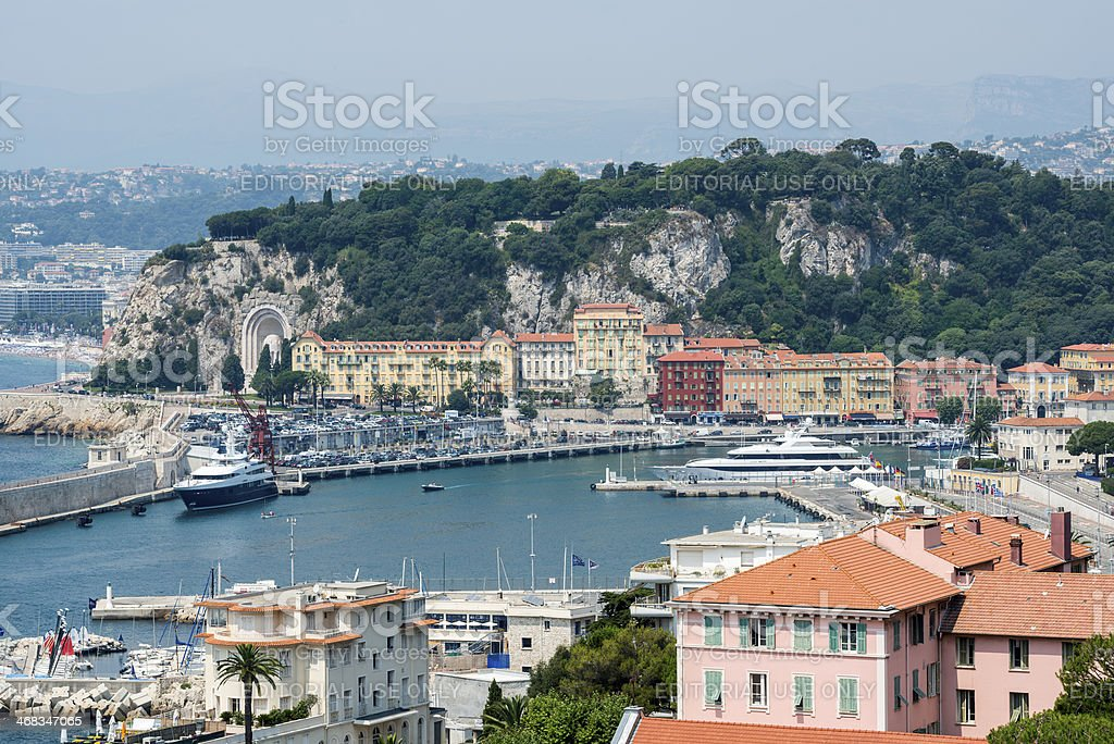 Nice (Cote d'Azur) royalty-free stock photo