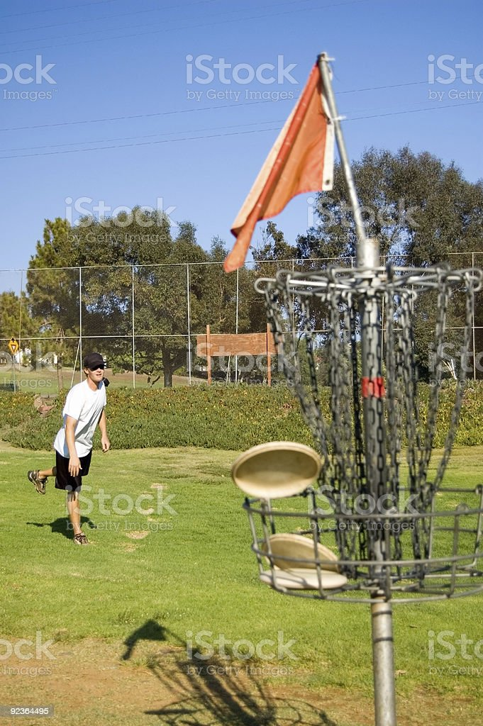 Nice Putt royalty-free stock photo