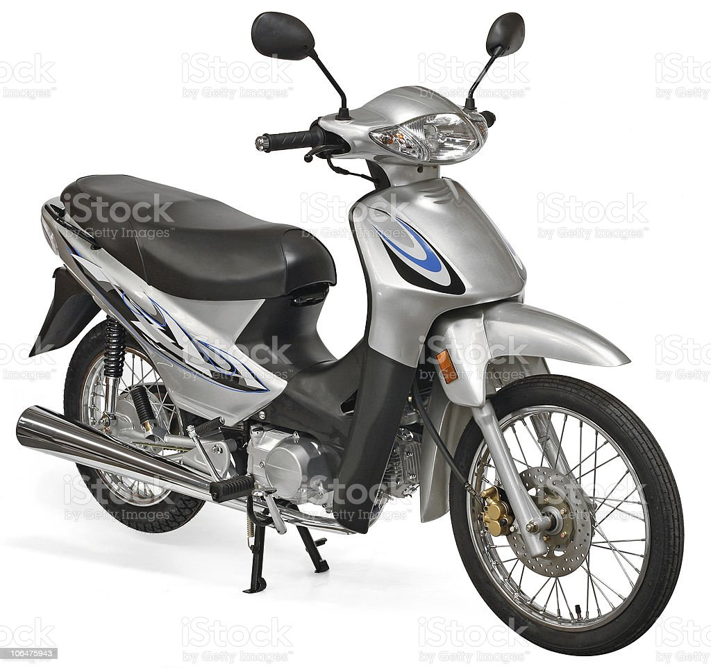 Nice scooter motorcycle royalty-free stock photo