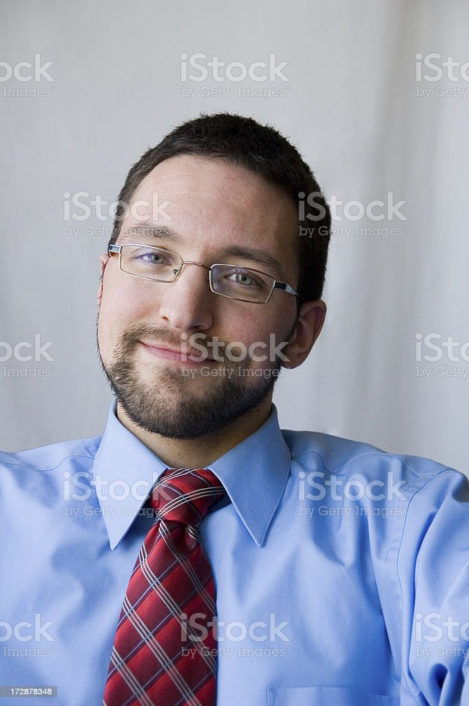 Nice Smile stock photo