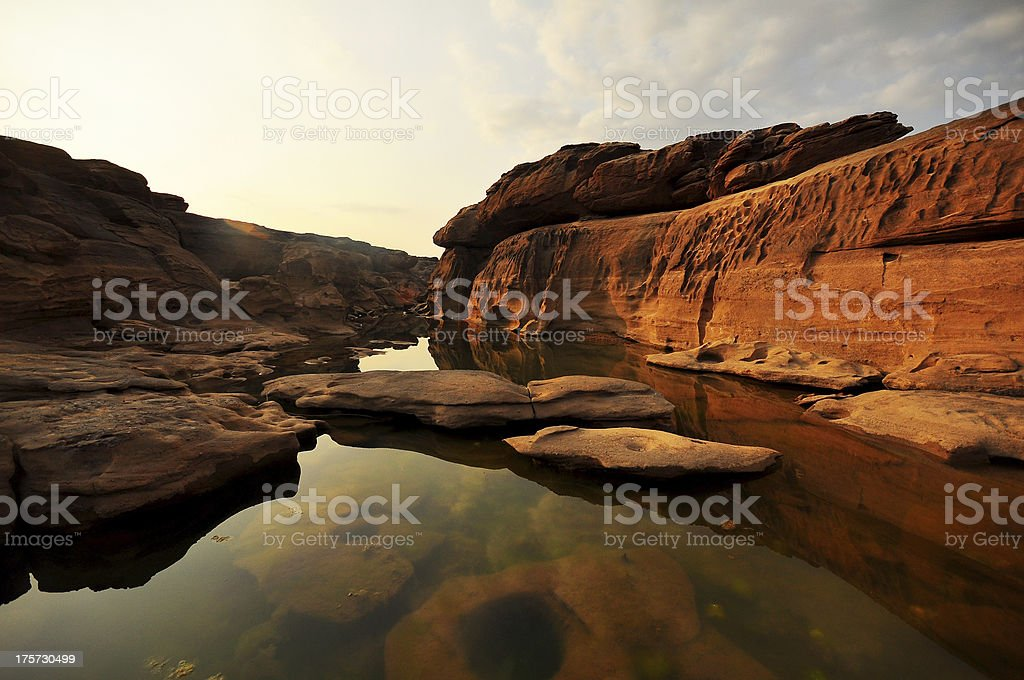 Nice Thailand Grand Canyon royalty-free stock photo